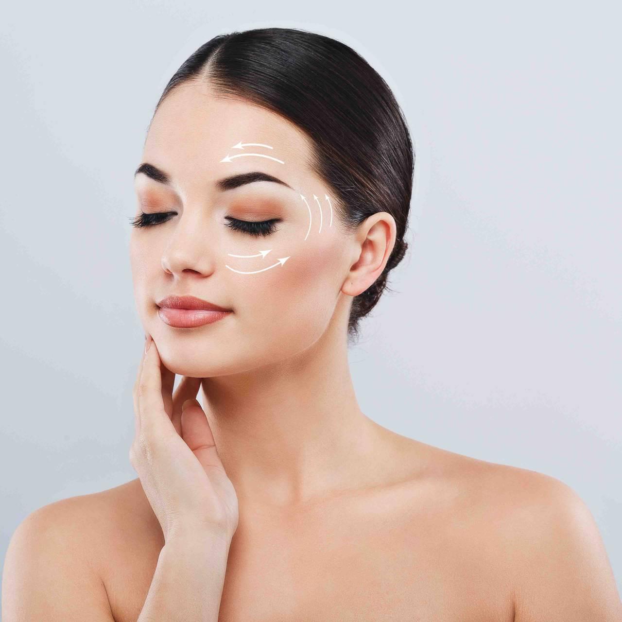 коррекция кожи вокруг глаз, убрать мешки и грыжи под глазами