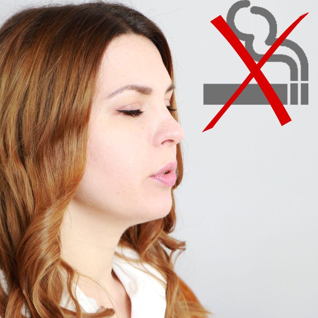 нельзя курить перед тестом днк