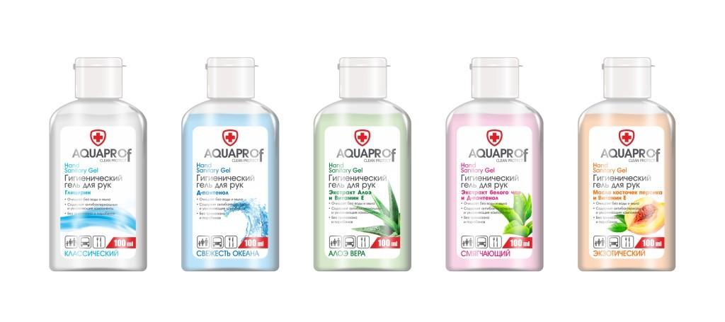 aquaprof антисептик для рук