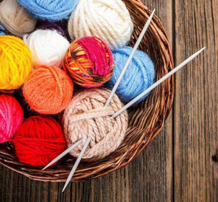 вязание нитки
