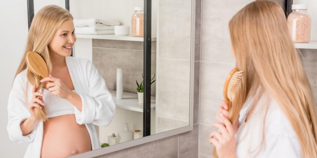 беременность и волосы