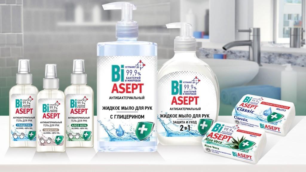 жидкое мыло биасепт антибактериальное и антибактериальный гель для рук биасепт